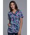 Photograph of Cherokee Prints Women's V-Neck Top Floral Blast CK621-FBLT