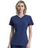 Photograph of Infinity Women V-Neck Top Blue CK623A-NYPS