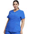 Photograph of Infinity Women V-Neck Top Blue CK623A-RYPS