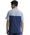 Photograph of Infinity Men Men's Colorblock Crew Neck Top Blue CK630A-NYPS