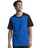 Photograph of Infinity Men's Men's Colorblock Crew Neck Top Blue CK630A-RYPS