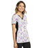 Photograph of iFlex Women's V-Neck Knit Panel Top Owl Be In The Garden CK636-OWGD