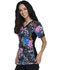 Photograph of iFlex Women V-Neck Knit Panel Top Wild About Flowers CK636-WIAF