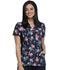 Photograph of iFlex Women's Mock Wrap Knit Panel Top Among The Wildflowers CK642-AMTW