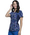 Photograph of iFlex Women's Mock Wrap Knit Panel Top Geo's On The Move CK642-GEMV