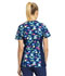 Photograph of iFlex Women's Mock Wrap Knit Panel Top Just Hoppin' Around CK642-JHOP