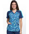 Photograph of Infinity by Cherokee Women's V-Neck Top Show Me What You've Dot CK645-SHMD