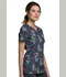Photograph of Cherokee Prints Women's V-Neck Top We Are Aware! CK646-WAWR