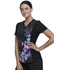 Photograph of iFlex Women's V-Neck Knit Panel Top Meadow Song CK647-MESO