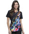 Photograph of Infinity Women's V-Neck Top Floral Spectrum CK648-FLUM