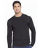 Photograph of Infinity Men's Men's Long Sleeve Underscrub Knit Top Black CK650A-BAPS