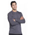 Photograph of Infinity Men Men's Long Sleeve Underscrub Knit Top Gray CK650A-PWPS