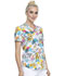 Photograph of Cherokee Prints Women V-Neck Top Tropical Playground CK652-TRPG