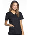 Photograph of Luxe Sport Women's V-Neck Top Black CK670-BLKV