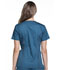 Photograph of Luxe Sport Women's V-Neck Top Blue CK670-CARV