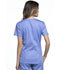Photograph of Luxe Sport Women's V-Neck Top Blue CK670-CELV
