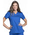 Photograph of Luxe Sport Women's V-Neck Top Blue CK670-ROYV