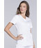 Photograph of Luxe Sport Women's V-Neck Top White CK670-WHTV