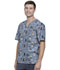 Photograph of Cherokee Prints Men Men's V-Neck Top Outdoor Adventures CK675-ODAV