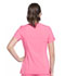 Photograph of iFlex Women's Mock Wrap Knit Panel Top Pink CK680-KAPK