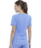 Photograph of Infinity Women Tuckable V-Neck Top Blue CK687A-CIPS