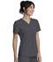 Photograph of Infinity Women Tuckable V-Neck Top Gray CK687A-PWPS