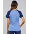 Photograph of Infinity Women's Colorblock V-Neck Top Blue CK690A-CIPS
