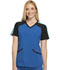 Photograph of Cherokee Infinity Women's Colorblock V-Neck Top Blue CK690A-RYPS
