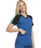 Photograph of Infinity Women's Colorblock V-Neck Top Blue CK690A-RYPS