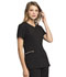 Photograph of Statement Women's Ribbed V-Neck Top Black CK695-BLK