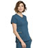 Photograph of Statement Women's V-Neck Top Blue CK695-CAR