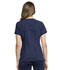 Photograph of Statement Women's Ribbed V-Neck Top Blue CK695-NAV
