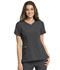 Photograph of Statement Women's Ribbed V-Neck Top Gray CK695-PWT