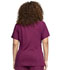 Photograph of Statement Women's Ribbed V-Neck Top Red CK695-WIN