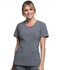 Photograph of Cherokee Infinity Women's Round Neck Top Black CK710A-HTGR