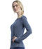 Photograph of Infinity Women Long Sleeve Underscrub Knit Tee Blue CK765-NVGR