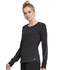 Photograph of Infinity Women's Long Sleeve Underscrub Knit Tee Black CK765-PWBK