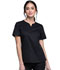 Photograph of Luxe Women's Notch V-Neck Top Black CK770-BLKV