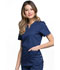 Photograph of Luxe Women Notch V-Neck Top Blue CK770-NAVV