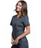 Photograph of Luxe Women's Notch V-Neck Top Gray CK770-PEWV