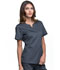 Photograph of Luxe Women Notch V-Neck Top Gray CK770-PEWV