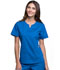 Photograph of Cherokee Luxe Women's Notch V-Neck Top Blue CK770-ROYV