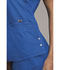 Photograph of Luxe Women's Notch V-Neck Top Blue CK770-ROYV