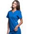 Photograph of Luxe Women Notch V-Neck Top Blue CK770-ROYV