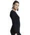 Photograph of Infinity Women Long Sleeve V-Neck Top Black CK781A-BAPS