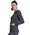 Photograph of Infinity Women Long Sleeve V-Neck Top Gray CK781A-PWPS