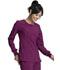 Photograph of Infinity Women Long Sleeve V-Neck Top Red CK781A-WNPS