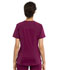 Photograph of Statement Women's V-Neck Zip Front Top Red CK795-WIN