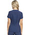 Photograph of Infinity Women Zip Front V-Neck Top Blue CK810A-NYPS