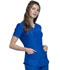 Photograph of Cherokee Form Women V-Neck Top Blue CK840-ROY